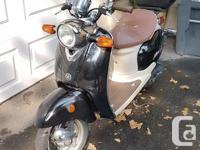 Make Yamaha Model Vino Year 2005 kms 21400 This scooter