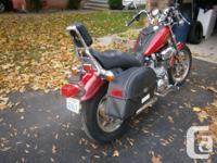 yamaha virago 1100 for sale new back tire, windshield,
