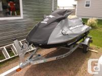 2014 wave runner ,110 hp, 4 stroke, 3 person , white