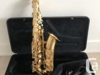 This saxophone has been in storage for a while, hence