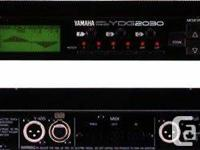 1 YAMAHA YDG2030 2 CHANNELS 30 BANDS RESPONSES LOCATOR