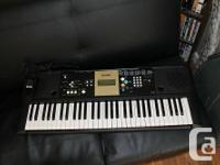 Yamaha YPT 220 keyboard, as new, barely used $60  Phone