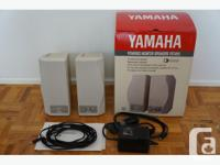 Yamaha YST-M10 Powered Monitor Speakers gently used and