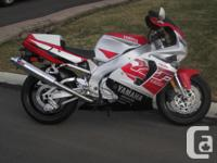 Rare, 1997 YZF750R with only an original 3900kms on