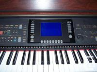 Yamaha Clavinova, full keyboard and foot pedals, true
