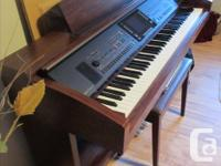 Yamaha Clavinova, excellent shape, real piano sound