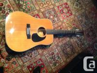 1973 - 12 string guitar with case. Beautiful neck,