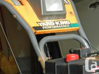 FIFTEEN YRS OLD AND WORKING GREAT! BOTH ELECTRIC AND