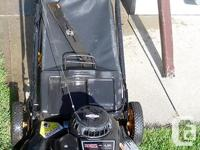 Good condition Yardpro 4.5 hp Briggs & Stratton 21
