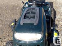 Good working condition Yardworks garden tractor with a