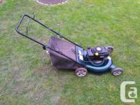 CURRENTLY AVAILABLE! For sale is a gas 4.5 horsepower,
