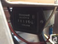 Like new, model LT1642 Yardworks ride-on mower. Bought