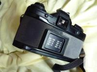 The camera is in good used condition with new batteries