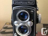 I am selling my Yashica Mat 120 film & Nikon F2
