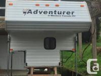 2000 Adventurer 8 Foot Truck Camper -----------------