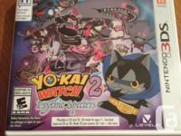 I am selling my Yo-Kai Watch games for the 3DS family.