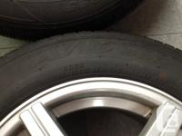 4 Yokahama AVID 533 P 195/65 R15 Radials M&S wheels are