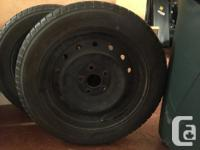 Full set of Yokohama W.Drive winter tires. These are