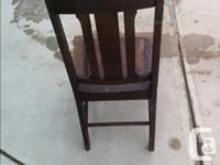 YORKTON $ 20.00 OLDER CHAAIR BEEN IN THE FAMILY FOR