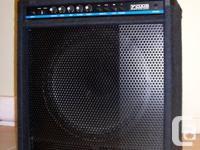 "200 Watt Bass Guitar Amp with 15"" speaker, Limiter and"