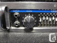 This is a great, used Yorkville 400B bass head. It