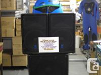 We have a Yorkville Elite Excursion 2000 PA system. The