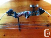 PSE Spyder compound bow - right handed, draw length