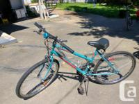 Youth size bike with very light use. Tires and breaks