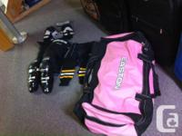 Brand new Easton hockey bag, assorted hockey equipment for sale  Ontario