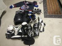 Youth hockey equipment in great shape full set