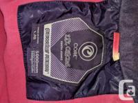 Multi coloured Jacket * inside pocket * snow belt *