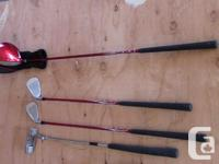 """Good condition. Driver (""""34) and sock Putter (""""25) 7"""