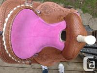 The reason I am selling this saddle is because it