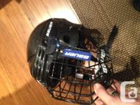 We have some lightly used youth skates and a helmet