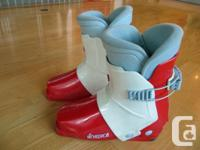 Nordica rear-entry alpine ski boots for sale. Very