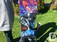 Excellent Sims snowboard- condition as new - my son
