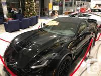 Make Chevrolet Model Corvette Year 2017 Colour Black for sale  British Columbia