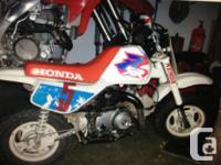 1993 Honda z50, terrific Xmas existing. Just all tuned