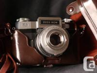 Zeiss Ikon Contaflex in very good shape. I believe this
