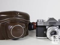 1.Zeiss Ikon Contina with Pantar 45mm/2.8 lens,the lens for sale  Ontario