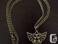 Selling Legend of Zelda Necklace, Brand new in Box.