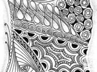 Zentangle is an easy-to-learn, relaxing and fun way to
