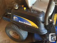New holland zero turn Purchased 2012 Features: 42 inch
