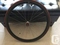 Zipp 202 Dimpled Carbon Tubular Wheelset with Shimano, used for sale  Ontario
