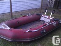 "Original ""Zodiac"" brand Fast Roller inflatable boat 10"