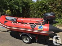 ZODIAC FUTURA MK2C - with 20 hp Outboard (1995) and