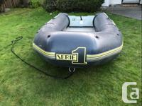 Zodiac S134 Inflatable watercraft. 11.15 ft long. 5