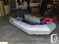 Boat and motor were both purchased used two years ago