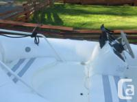 4m Zodiac with 40 Honda four stroke. Comes with