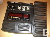 I have a mint Zoom 707 GFX guitar effect. Asking $75